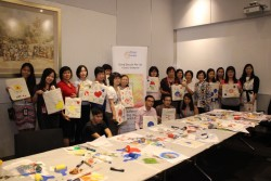 Particpants at SingTel Art Workshop 15 July 2015 (800x533)