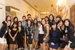 Exhn Launch at TAH with SMU Team